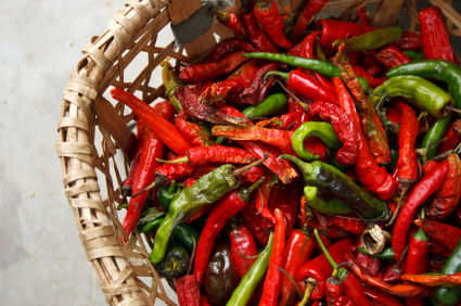 Bhutanese peppers